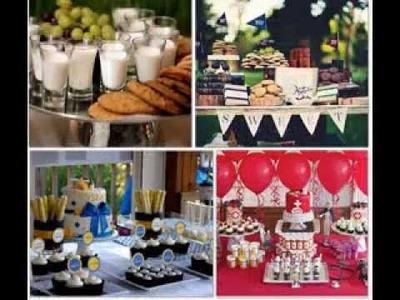 DIY Graduation party food decorating ideas