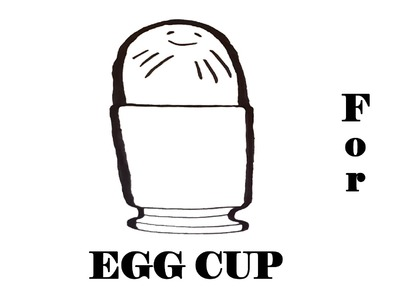 DIY How to draw easy stuff but cool on paper:draw an EGG Cup with Pencil EASY,Egg holder,SPEEDY