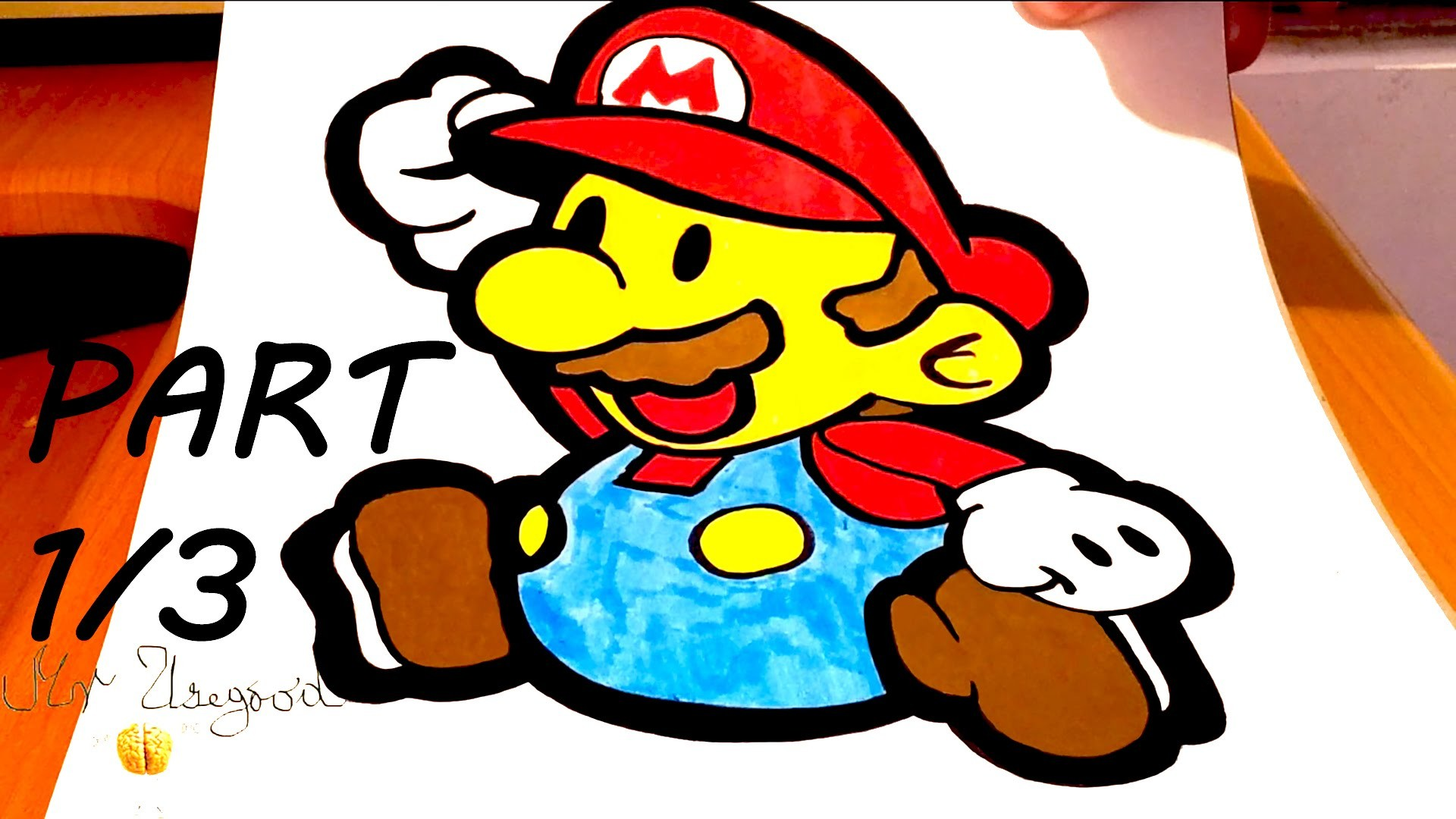 DIY How to draw Super Mario Characters Step by Step EASY ...