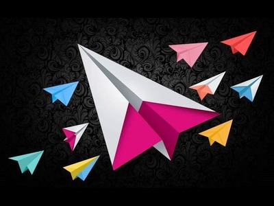 DIY-How to make Paper Plane -Simple steps