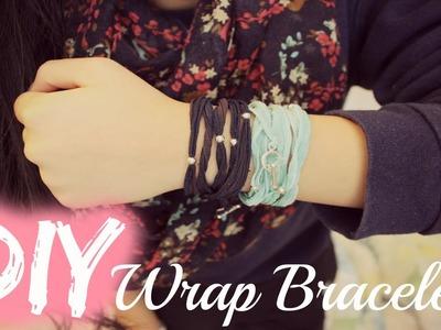 DIY: Simple & Cute Wrap Bracelets