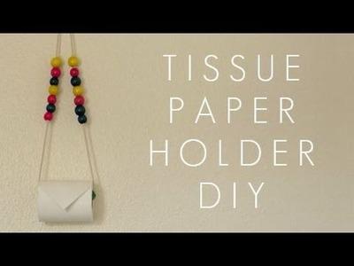 DIY TISSUE PAPER.TOWEL HOLDER