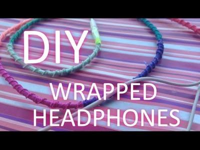 ☼ DIY: WRAPPED HEADPHONES ☼