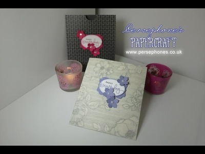 Flat Paper Bag | Stampin' Up (UK) with Persephone's Papercraft