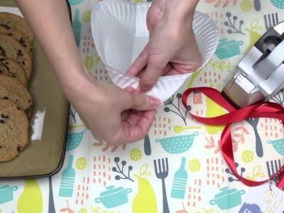 Fold a Paper Plate to Make a Basket
