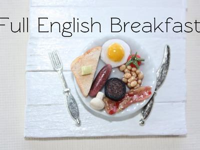 Full English Breakfast - Clay Food Tutorial