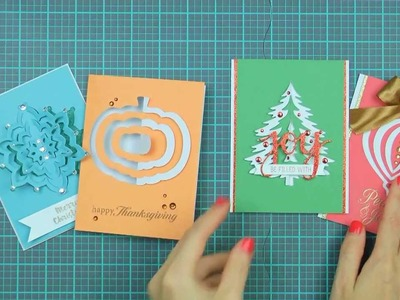 Hero Arts How-To: Paper Layering Dies