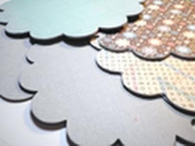 Hopscotch Album Series - Part 1 - Covering Chipboard