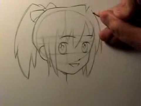 How to Draw Manga: Head Shape & Facial Features