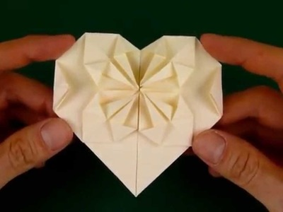 How to heart box | origami tutorial | love origami paper