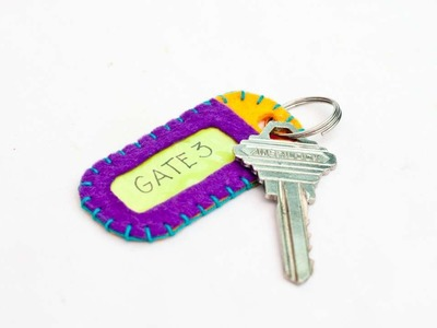 How To Make A Cute Personalized Key Tag - DIY Style Tutorial - Guidecentral