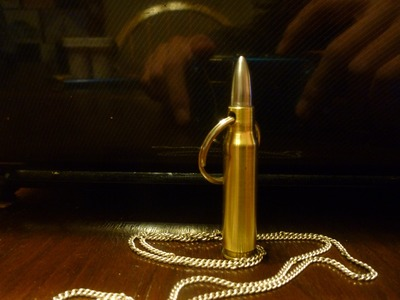 How To Make A DIY Bullet Necklace