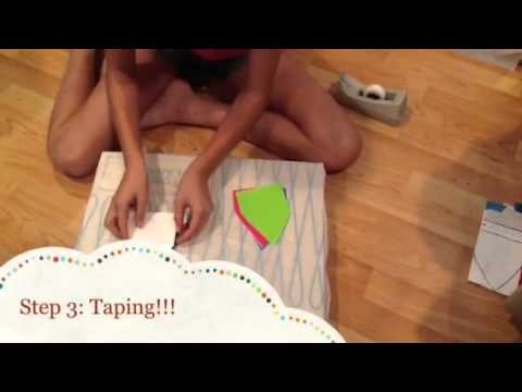 How to make a paper bag star!!!