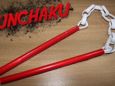How to Make a Paper Nunchaku