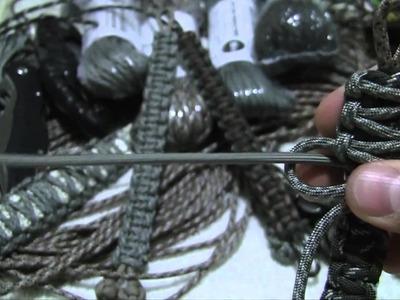 How To Make a Paracord Survival Bracelet - King Cobra Multicolor