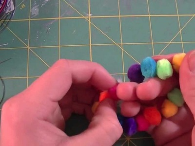 How to make a Pom-Pom Bracelet