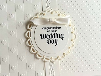 How To Make An Elegant Ivory Wedding Card - DIY Crafts Tutorial - Guidecentral