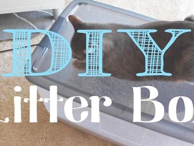 Kelli's Life Hacks: DIY Litter Box for under $10