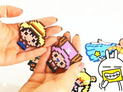 Le Mie Creazioni In Pyssla (Hama Beads) ❤ My perler.Hama Bead creations