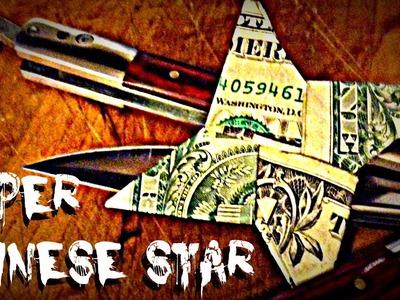 Make A Paper [Dollar] Ninja Chinese Star Shuriken Origami Cash Money