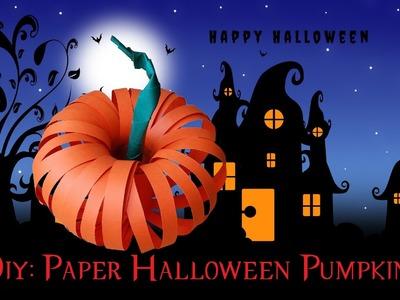 New! Amazing Paper Halloween Pumpkin