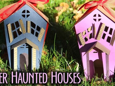 Paper Haunted Houses Filled with Candy! | BOOtorial