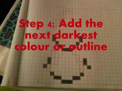 ♥ Pokemon DIY ♥ ~ ♥ How To Draw Pokemon Pixel Art ♥