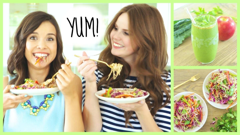 Quick & Healthy Breakfast + Lunch Ideas!