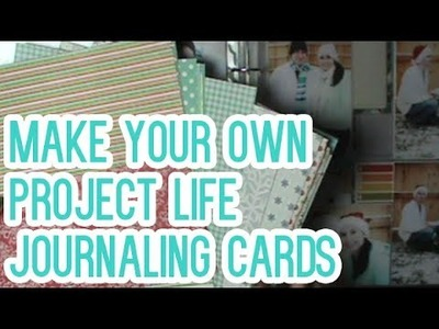 SP Episode 283: Make Your Own Journaling Cards -Project Life for Beginners