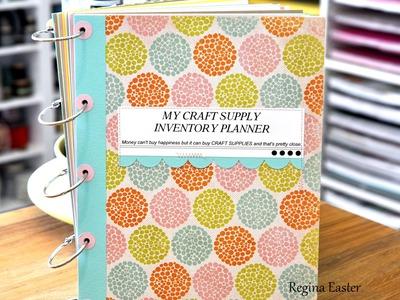 Watch Me Work Wednesdays - Episode 27 - Craft Supply Planner