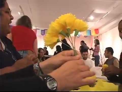 ZEMPASUCHIL Flores de Papel WORKSHOP for Day of the Dead 2011