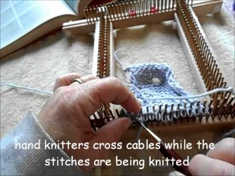3 stitch cables on a Kiss loom  everything you need to know