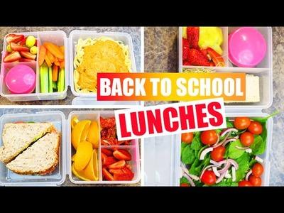 Back To School - DIY Easy Healthy Vegan School Lunch Ideas