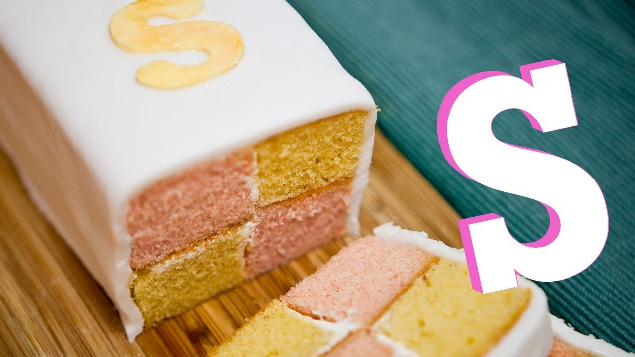 BATTENBERG CAKE RECIPE - SORTED