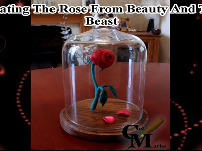 Beauty and the Beast, creating the eternal rose