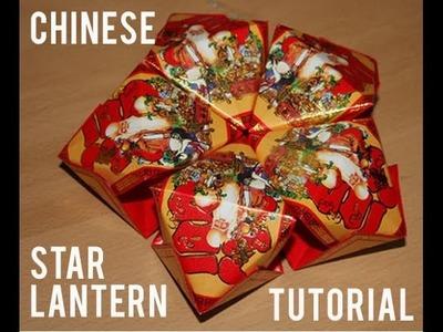 Chinese New Year Star Lantern Tutorial | redfloweraddict