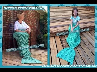 Crochet Mermaid Blanket Chat