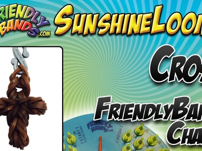CROSS FriendlyBands Charm - SunshineLoom How-To Video
