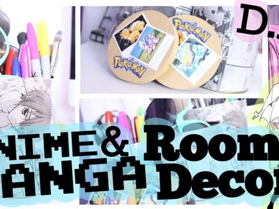 ✌ D.I.Y ✌ Anime & Manga ROOM DECOR! | SamKendelson
