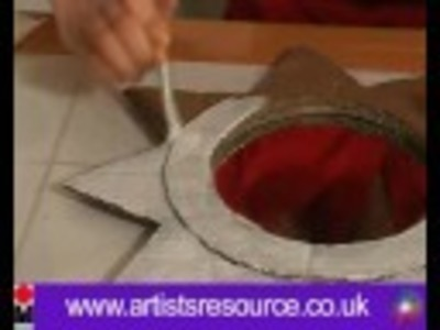 Decorate a Cardboard Sun Mirror- Acrylic Painting Project - Art and Craft