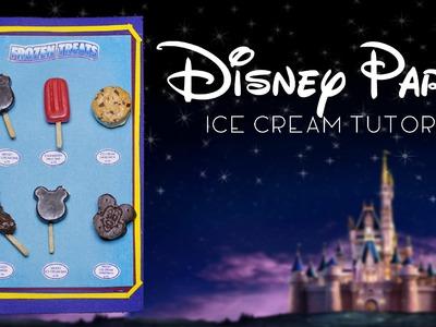 Disney Parks Frozen Treats. Miniature Polymer Clay Tutorial