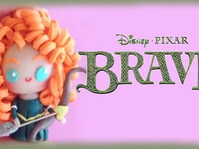 Disney Princess Brave Merida Chibi Clay Tutorial