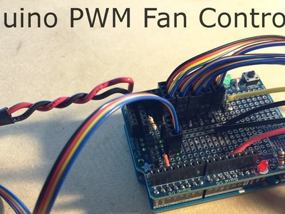 DIY Arduino PWM PC Fan Controller (Part 1) [Prototype] #0000