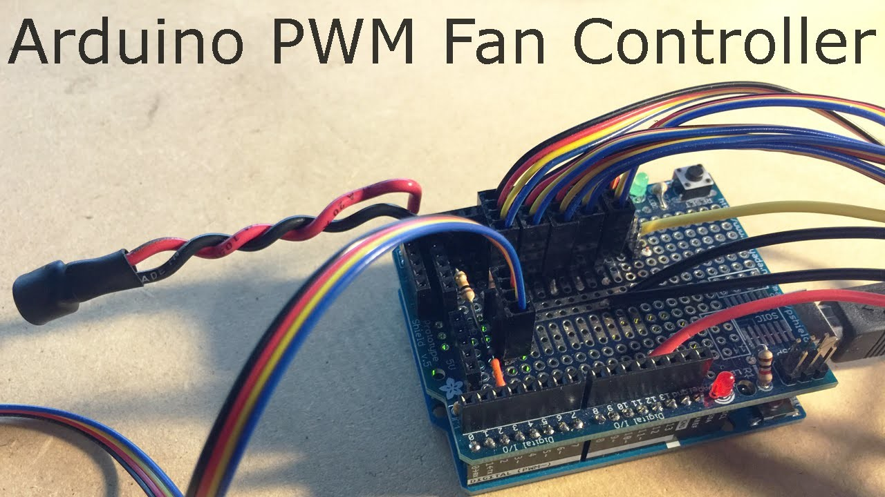4-Wire Pulse Width Modulation PWM Controlled Fans