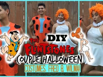 DIY Couple Halloween Costume: Fred & Wilma ( The Flintstones )
