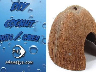 DIY How to Make Coconut Huts or caves #115