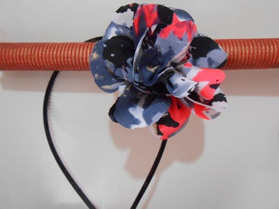 DIY: How to make Flower Hairband