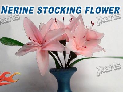 DIY How to make stocking flower Nerine  - JK Arts 237