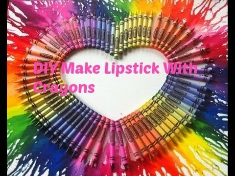 DIY Make Lipstick With Crayons (NO COCONUT OIL!!)