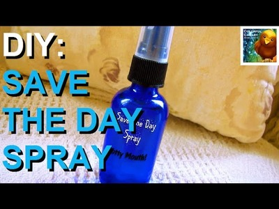DIY Organic Multi-purpose Deodorizing Spray